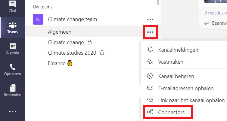 Hoe ontvang je Yammer updates in een kanaal