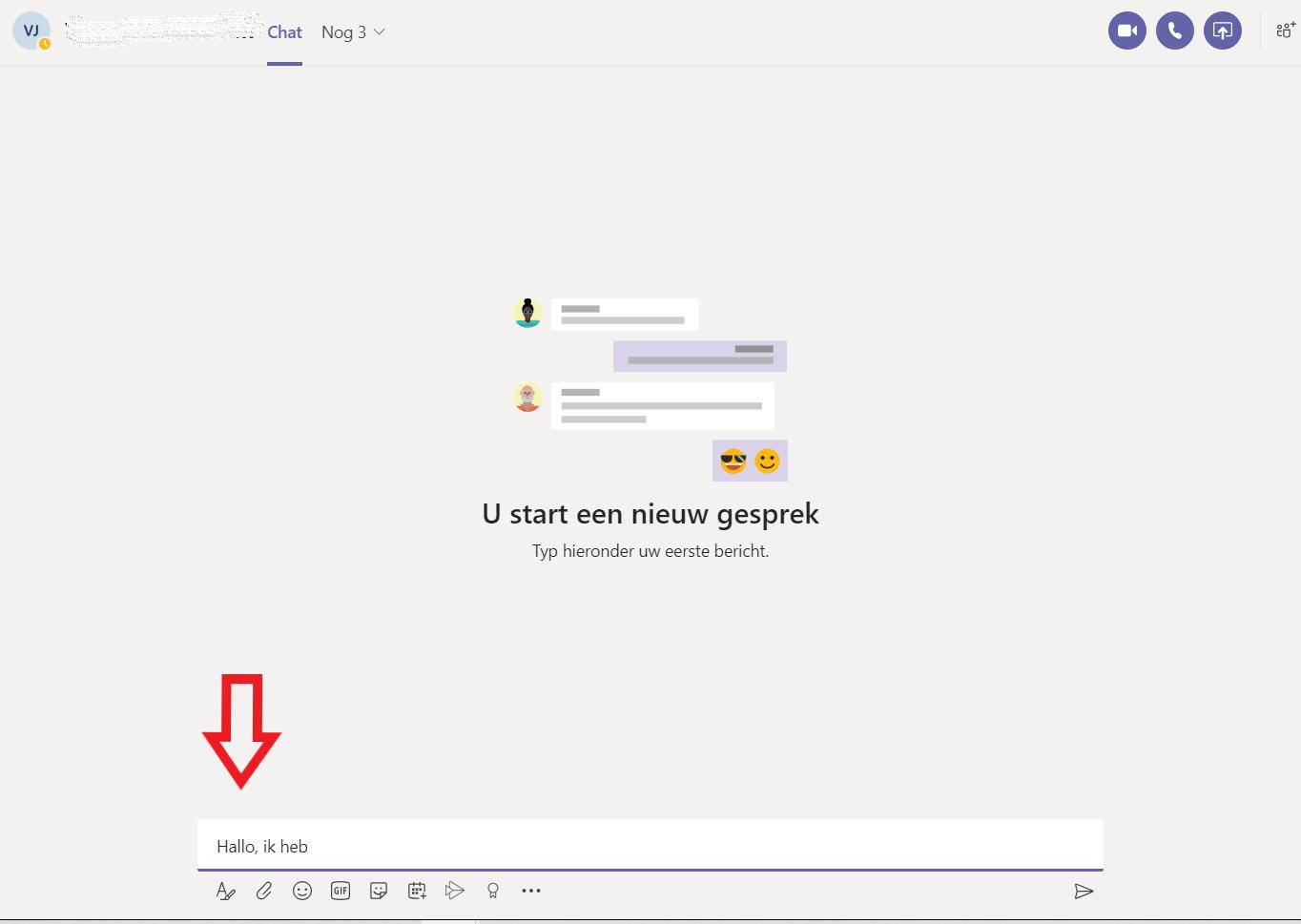 Hoe start je een chatgesprek