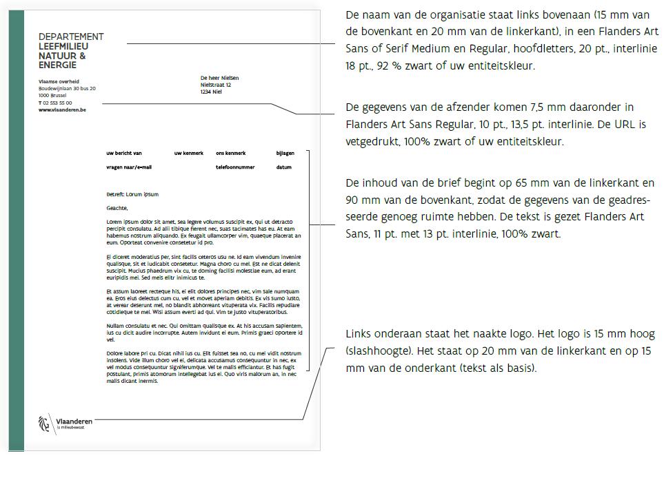 voorbeeld brief niveau 2
