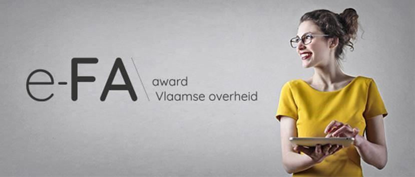 e-FA award Vlaamse overheid