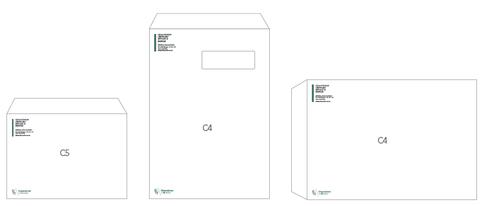 enveloppes C5 en C4