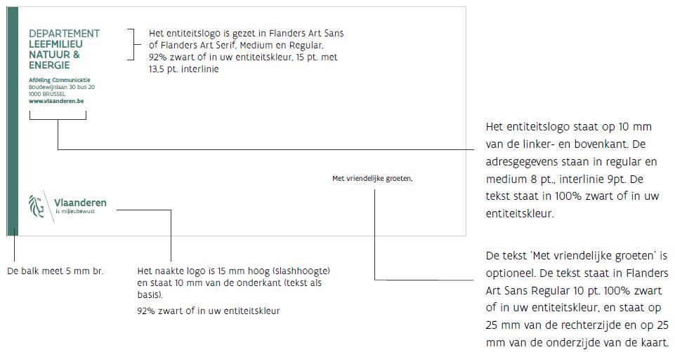 voorbeeld groetenkaart niveau 2