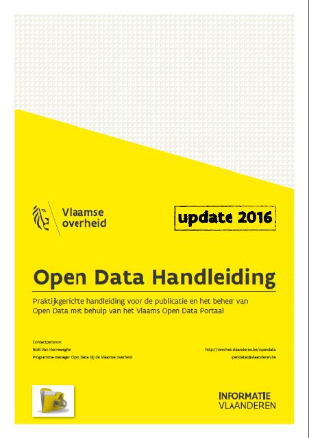 Cover Open Data Handleiding