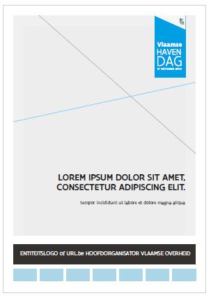 voorbeeld label in print met partners streep