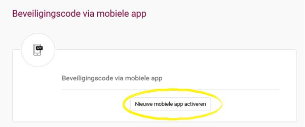 app activeren