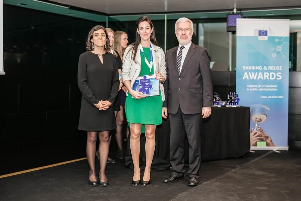 Uitreiking award