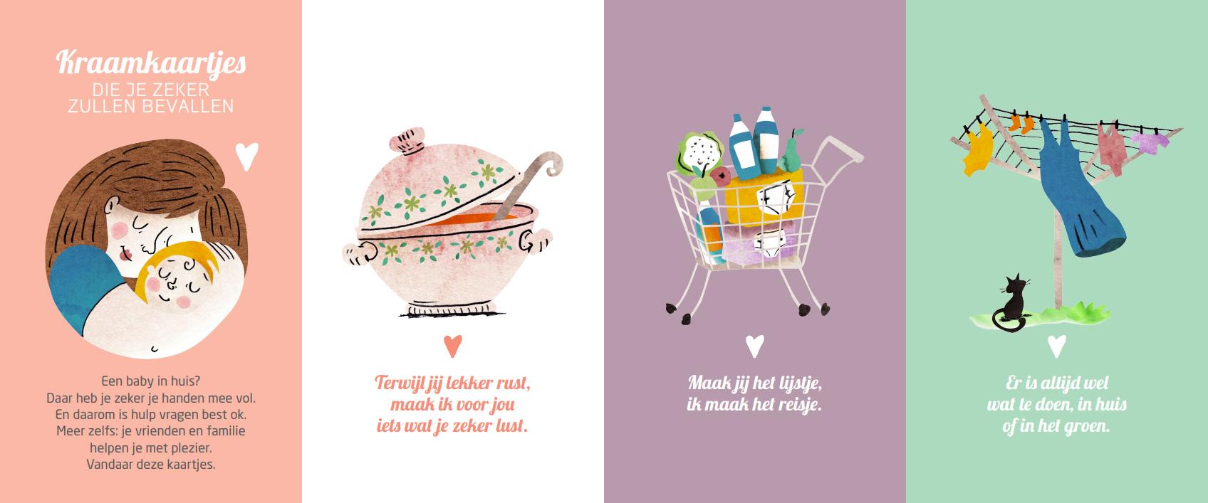 Kraamkaartjes van Kind en Gezin