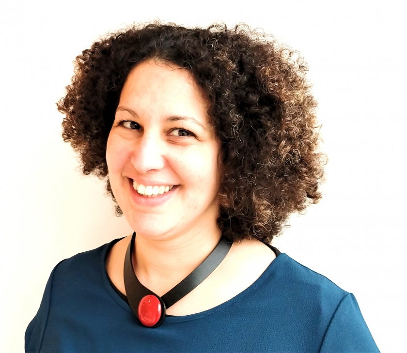 Farida Barki, medewerkster van Wablieft