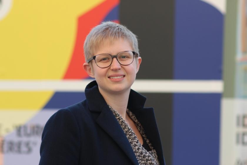 Tine Hendrickx, woordvoerder van de VMSW