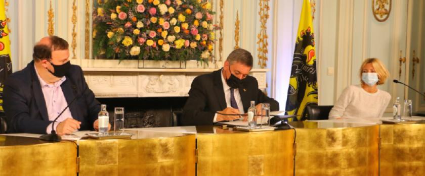 Ondertekening ICT-raamcontracten