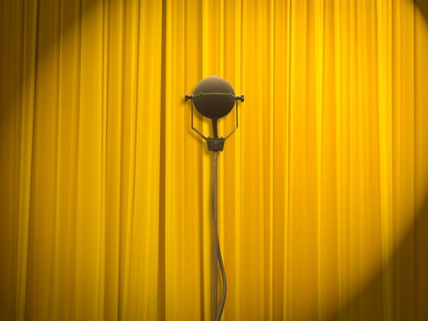Roadshow 2019 - thema inspirerend - afbeelding microfoon