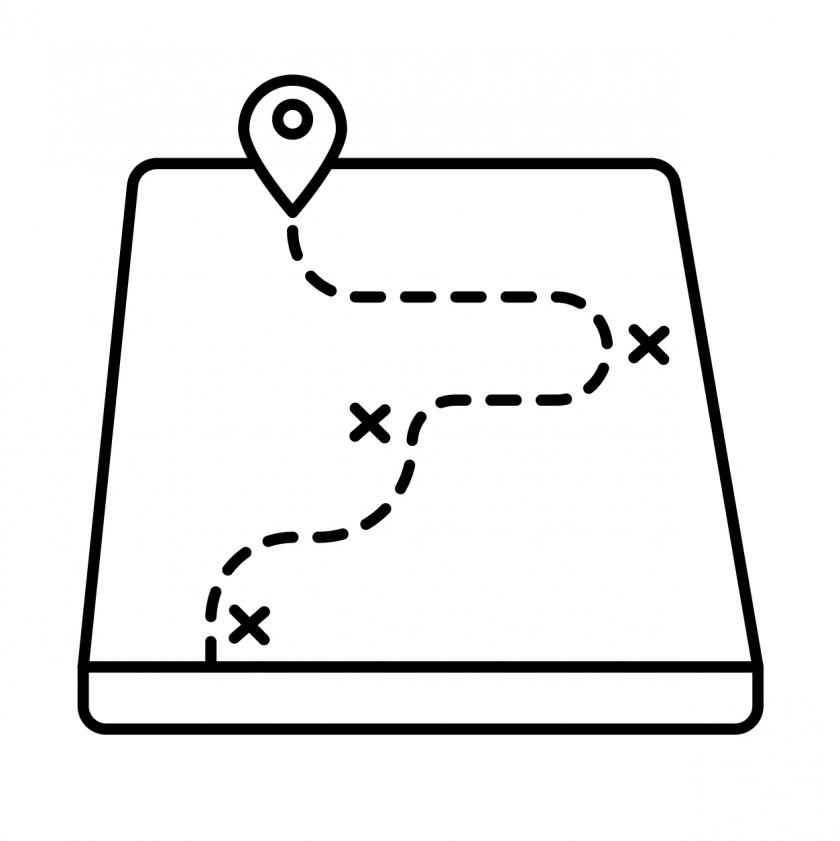 afbeelding van een pad