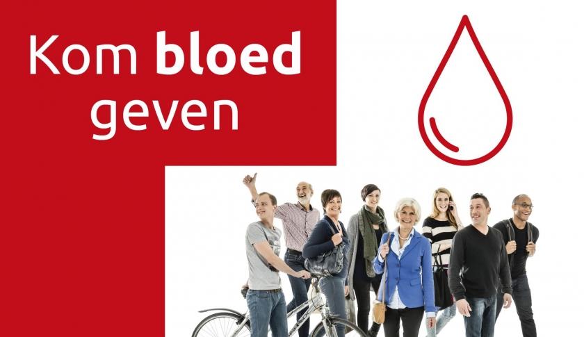 Campagnebeeld Rode Kruis bloedinzameling
