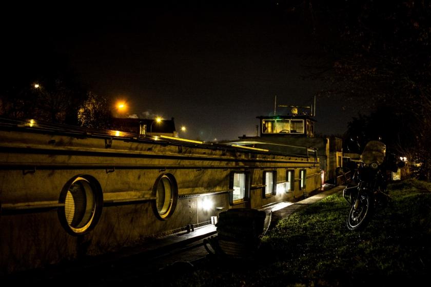 woonboot van Lindert Emmerechts