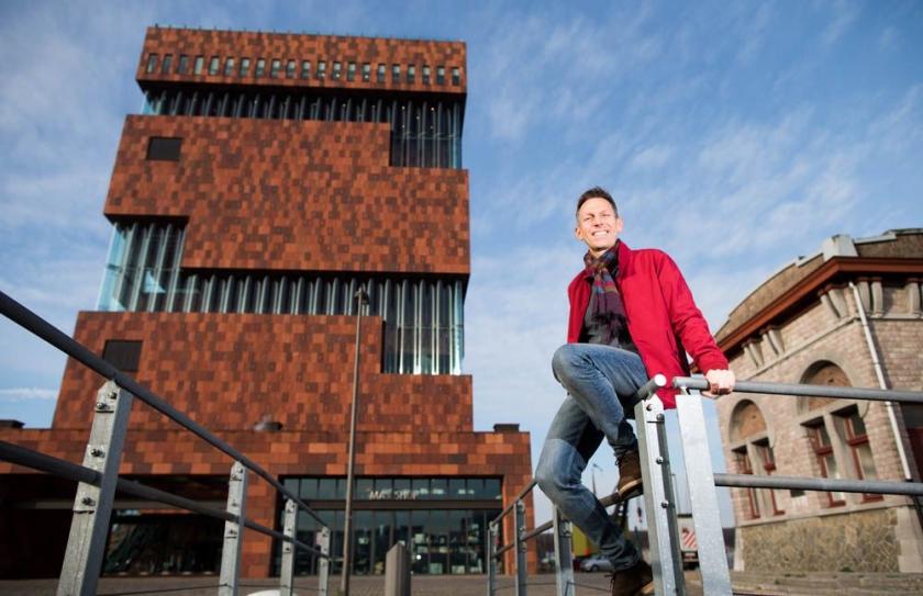 Sidney Crabs voor het MAS in Antwerpen