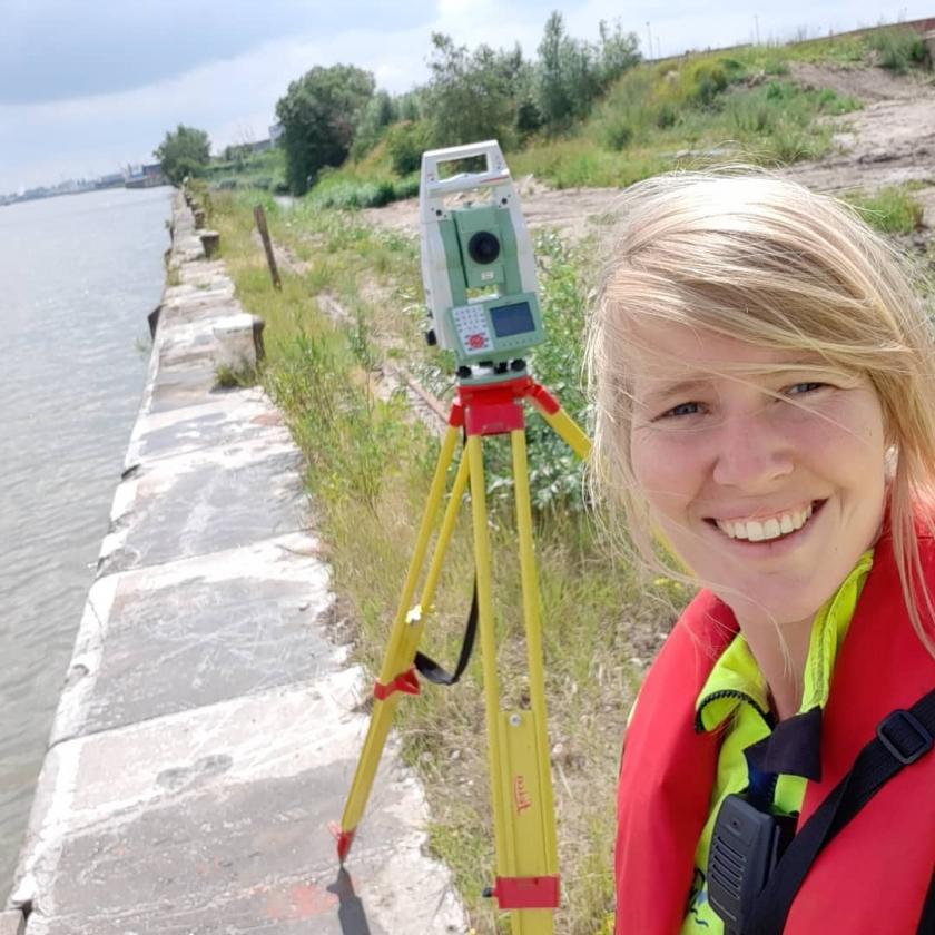 Anneleen van de Vlaamse Waterweg