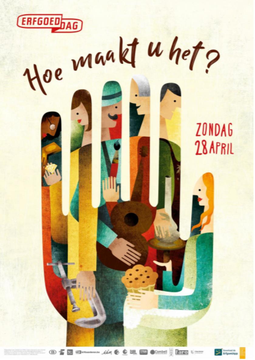 Affiche van Erfgoeddag