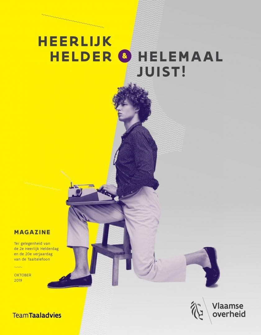 cover magazine Heerlijk helder en helemaal juist!