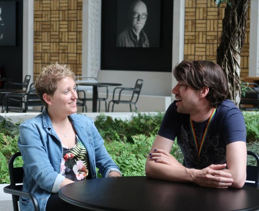 Jill Peiffer en Johannes Martens