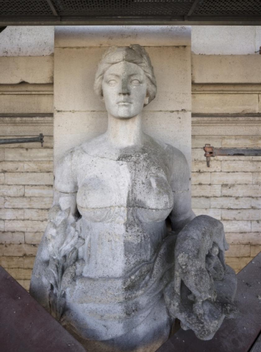 Sculptuur in het Koninklijk Museum voor Schone Kunsten Antwerpen