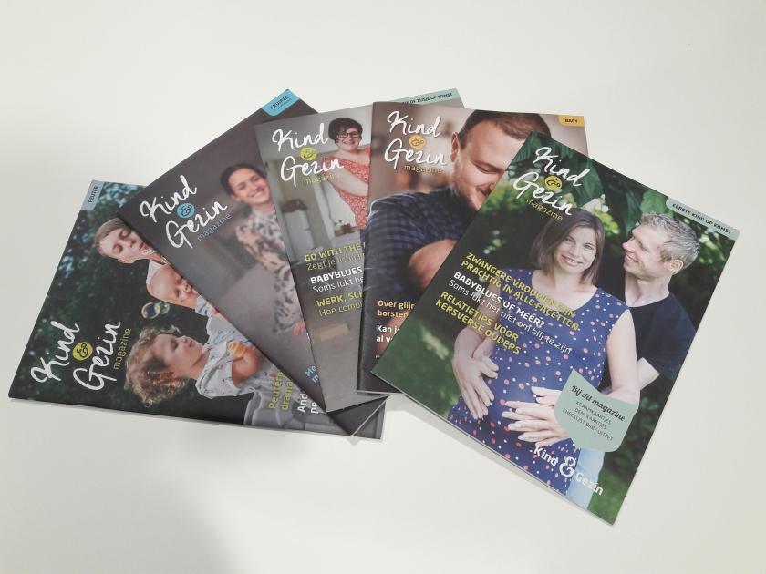 De 5 nieuwe magazines van Kind en Gezin