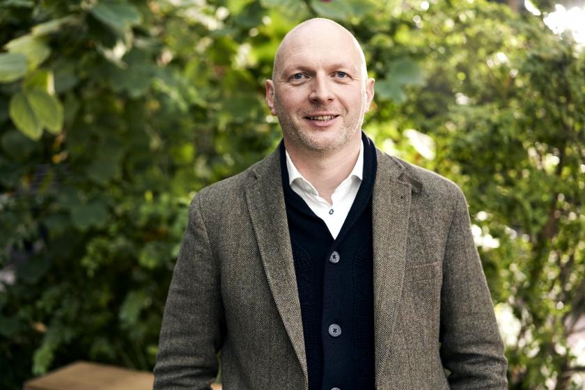 Bert Vanholen van het Agentschap voor Natuur en Bos (Foto: Joris Casaer)