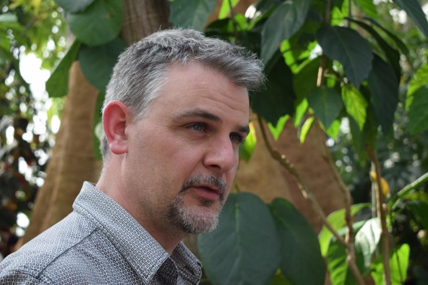 Koen Es, communicatiemedewerker Plantentuin Meise