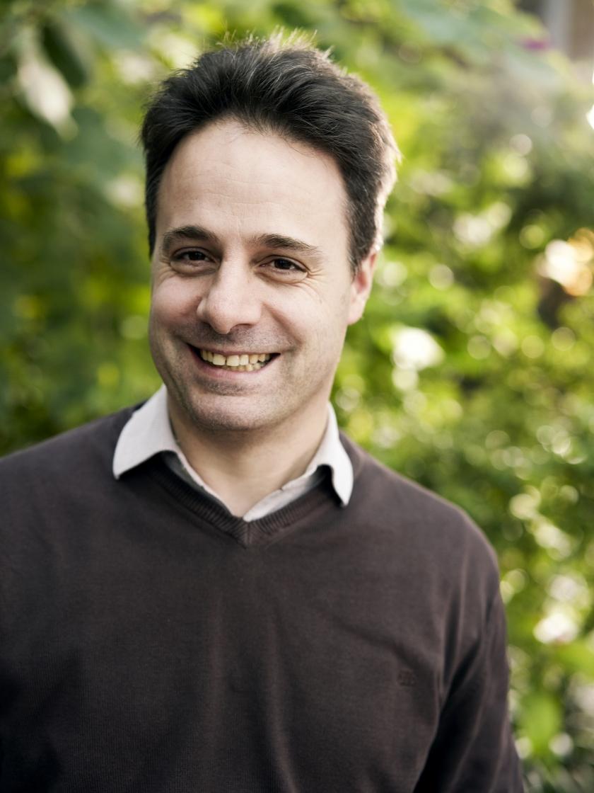 Daniel Du Seuil van Agentschap Informatie Vlaanderen (Foto: Joris Casaer)