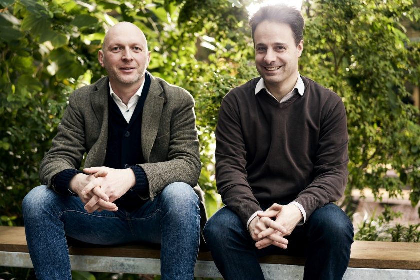 Bert Vanholen en Daniel Du Seuil (Foto: Joris Casaer)