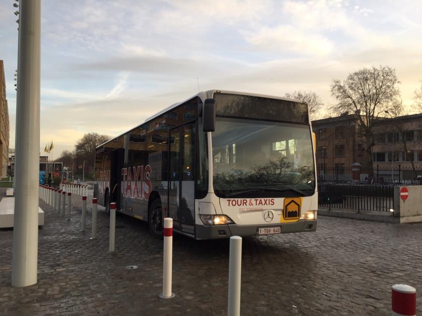 Grote pendelbus Thurn en Taxis (Foto: HFB/Tina Mafrans)