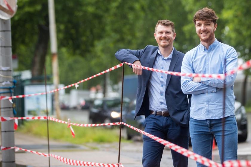 Jef Daems (links) en Wolfgang Cleymans (Foto: ID/Lieven Van Assche)