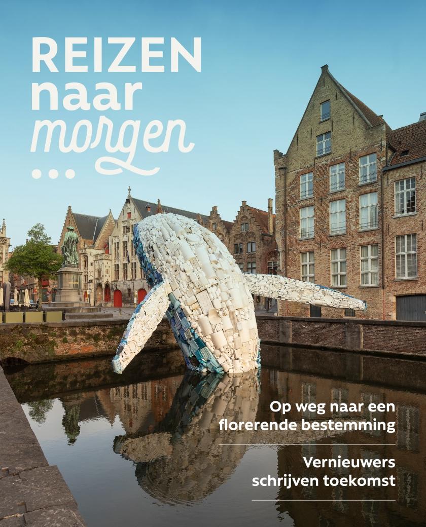 Cover magazine 'Reizen naar morgen'