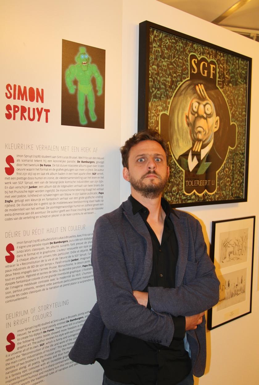 Simon Spruyt (Foto: Daniel Fouss/Stripmuseum )