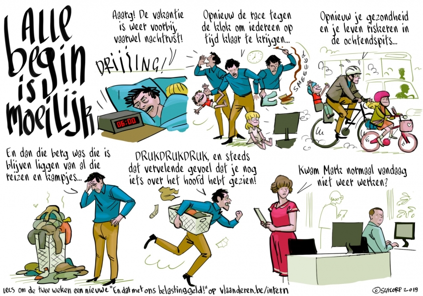 En dat met ons belastinggeld - strip door Simon Spruyt