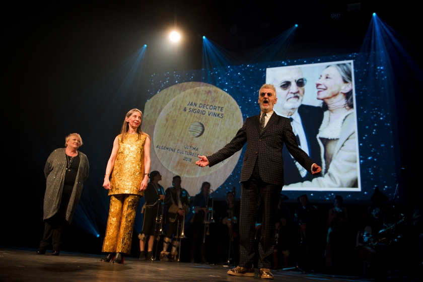 Sigrid Vinks en Jan Decorte (Foto: BelgaImage/Jasper Jacobs)