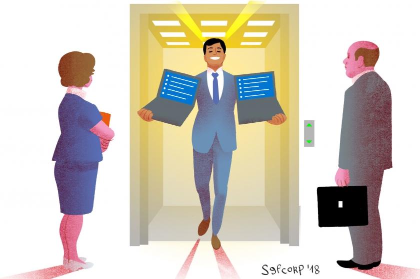 Illustratie Simon Spruyt - Werk maken van je werk met deze 10 geboden