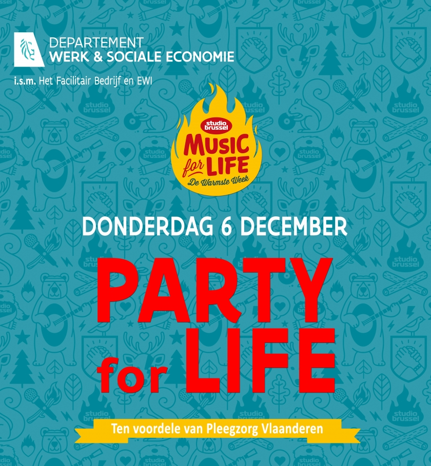 Affiche Party for Life